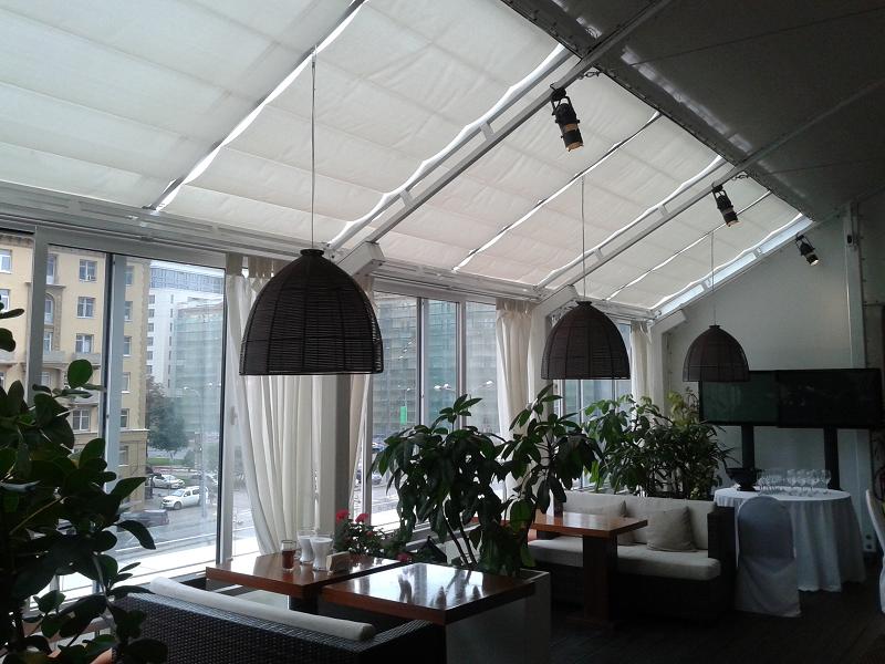потолочная римская штора Winter Meeting (фото 10)