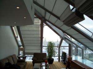 потолочная римская штора Winter Meeting (фото 2)