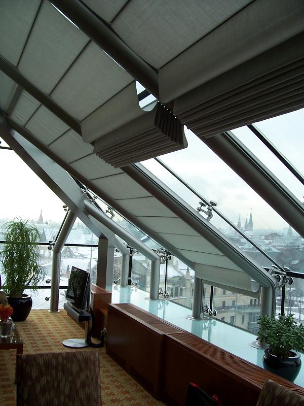потолочная римская штора Winter Meeting (фото 3)