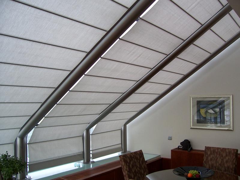 потолочная римская штора Winter Meeting (фото 4)