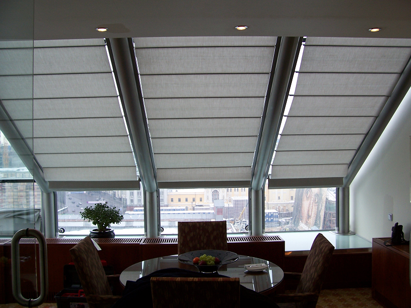 потолочная римская штора Winter Meeting (фото 6)