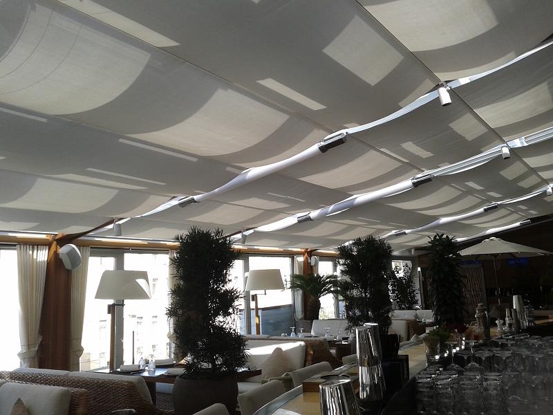 потолочная римская штора Winter Meeting (фото 8)