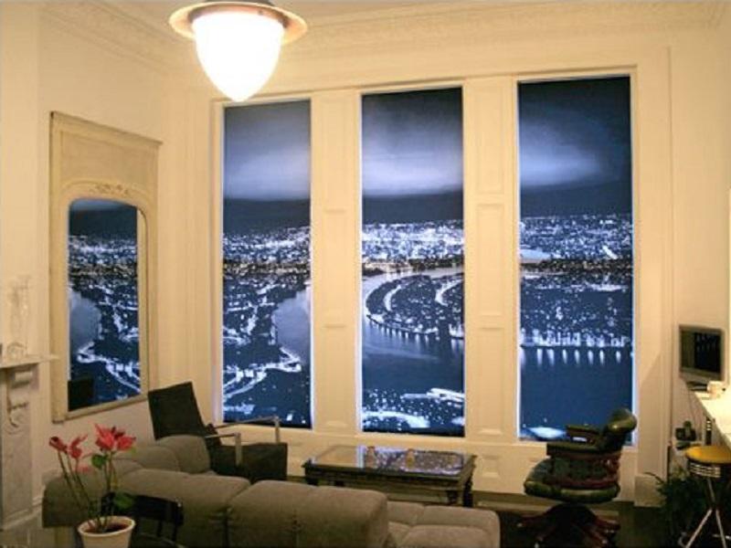 фотопечать на рулонных шторах